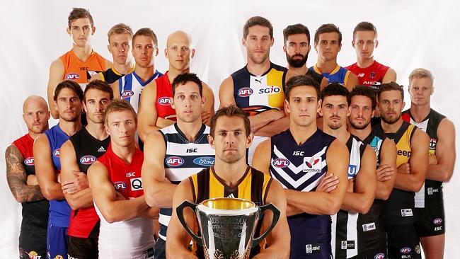 Captains 2015